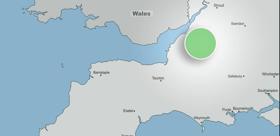 Bristol and surrounding areas